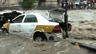 الاستعداد في الوطن العربي لإدارة الكوارث