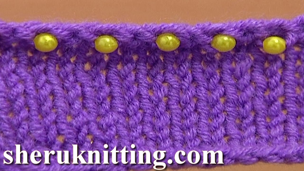 How To Bind Off Knitting In Pattern : Beaded Ending Decorative Bind Off Tutorial 7 Method 11 of 12 Sewn Bind-off - ...