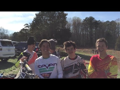 April Motocross With Friends video