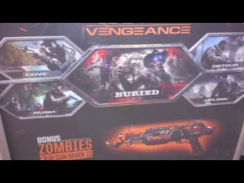 "Black Ops 2 ""VENGEANCE"" Map Pack 3 - NEW ""Buried"" Zombies Map! NEW ""Ray Gun Mark II"" Gun!"