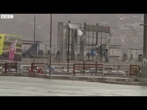 Afghanistan violence  Deadly bomb and gun attack hits Kabul