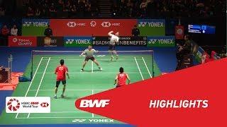 YONEX All England Open 2018 | Badminton MD - R16 - Highlights  | BWF 2018