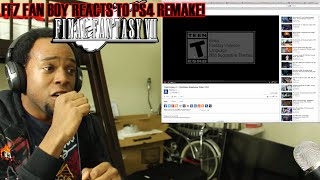 FF7 FAN BOY REACTS TO FFIIV REMAKE FOR THE PS4! view on break.com tube online.