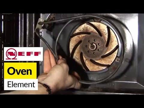 How to replace the element in a fan oven