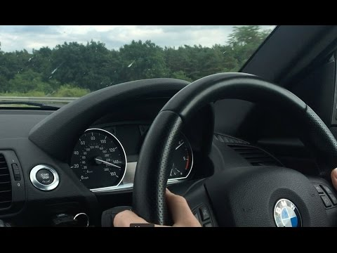2011 BMW 120d (E82) - Autobahn Top Speed