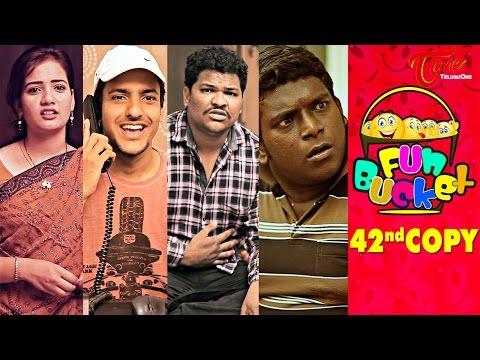 Fun Bucket   42nd Copy   Funny Videos   by Harsha Annavarapu   #TeluguComedyWebSeries