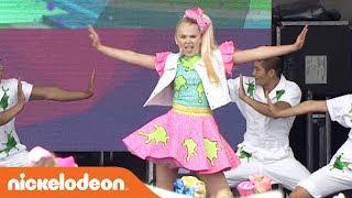 Download lagu JoJo Siwa Performs 'Boomerang' | SlimeFest 🎀 | Nick