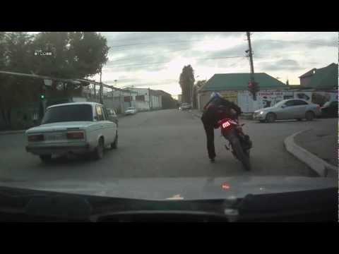 Трезвый мотоциклист