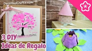 3 DIY Ideas de Regalos para Dia de la Madre de ultimo minuto! - DecoAndCrafts