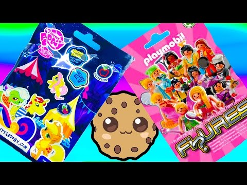 Mlp Playmobil Blind Bag Mystery Surprise Toy My Little Pony Opening Review Series 4 video