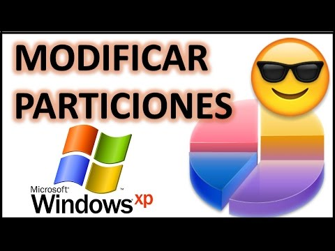Extender / modificar particiones en Windows XP
