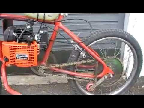 Homemade Chainsaw Bike Not