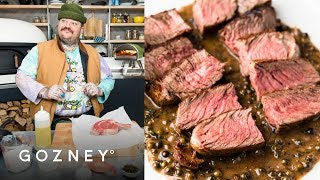 Steak au Poivre | Guest Chef: Matty Matheson | Roccbox Recipes | Gozney