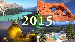 2015 Rewind: Amazing Places on Our Planet in 4K Ultra HD (2015 in Review)