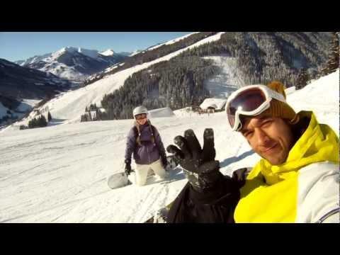 Wintersport Saalbach Hinterglemm - 2012