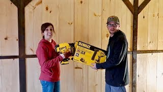 Putting the NAIL GUN to the TEST! DeWalt Cordless Nail Gun DCN680d1