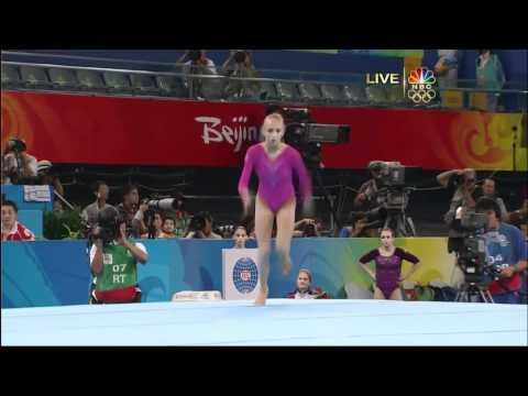 Nastia Liukin - Floor Exercise - 2008 Olympics All Around