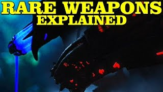 PREDATOR: RARE WEAPONS EXPLAINED - WHIP, LIQUID, DAGGER, WRIST GUN, SYRINGE, NOOSE, GLOVE