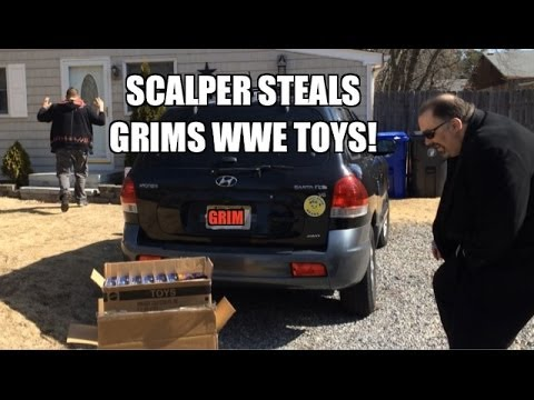 Grim's Toy Show Ep 772: Fat Scalper FIGHT! WWE Elite series 27 Mattel Wrestling figures STOLEN