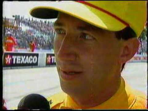 1992 Indycar CART Long Beach - Tough day for John Andretti and Hall VDS Racing Video