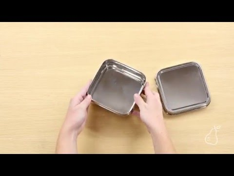 Solo Cube Sandwich Container by ECOlunchbox