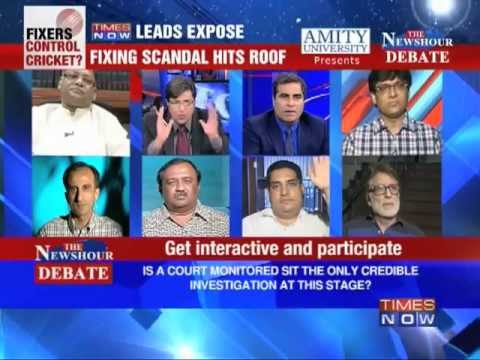 The Newshour Debate: IPL or Den of Sleaze (Part 3 of 6)