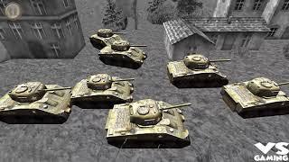 Stickman WW2 Battle Simulator | War of Tank Simulator  - Android GamePlay HD