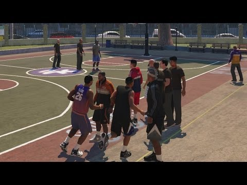 NBA 2K14 PS4 My Career - The Park Doesn't Work