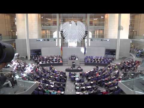 German Bundestag session on Greek debt crisis