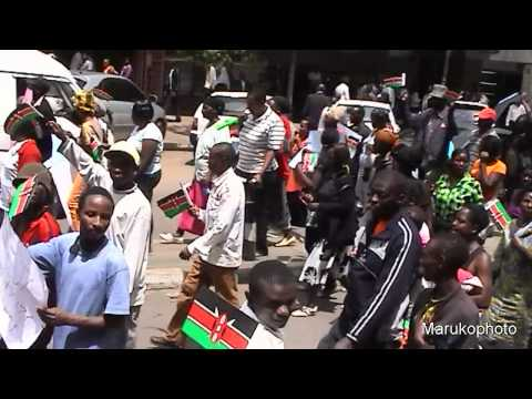 KENYAN YOUTHS PROTEST OVER AL SHABAAB ATTACK IN NAIROBI.mp4