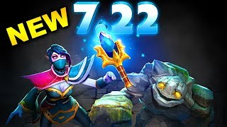 7.22 NEW PATCH DOTA 2 - BIGGEST BEST CHANGES DOTA 2