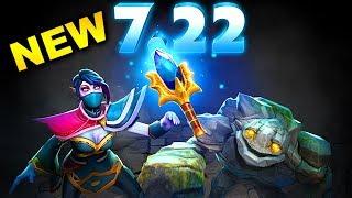 7.22 NEW PATCH DOTA 2 - BIGGEST BEST CHANGES DOTA 2