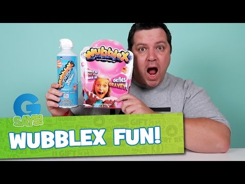 WubbleX Have You Wubbled Today - G Says Give Wubble Bubble Toy a Try