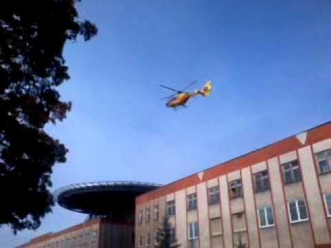 Pierwsze Lądowanie Helikoptera Przy Centrum Urazowym W Zielonej Górze