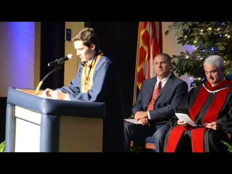 Mason Smith's North Raleigh Christian Academy Valedictory Speech 2013