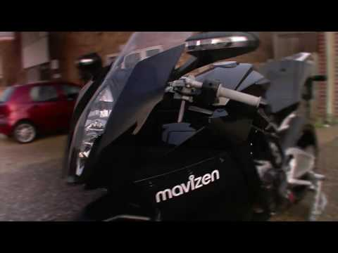 Mavizen TTX02 Electric Motorcycle - Low speed BMS test