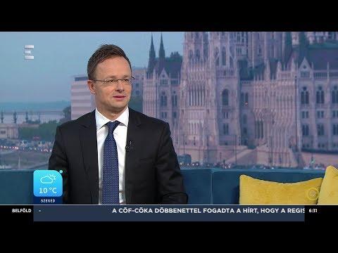 Kínában tárgyalt Orbán Viktor - Szijjártó Péter - ECHO TV