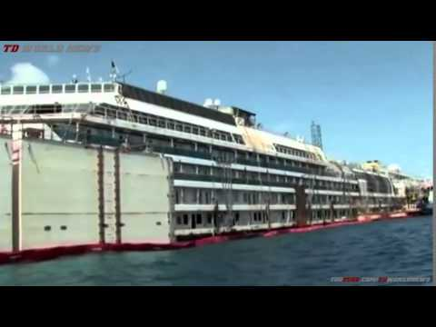 Costa Concordia: New wreck footage released