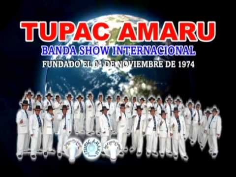 **MIX HUAYNOS**Tupac Amaru Banda Show Internacional Huancayo**