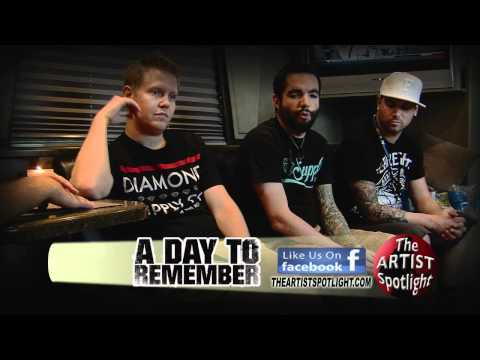 A Day to Remember Live Music Interview Uncut Jeremy McKinnon on THE ARTIST SPOTLIGHT Music Videos