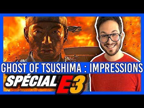 GHOST OF TSUSHIMA, mes impressions à couper le souffle - E3 2018