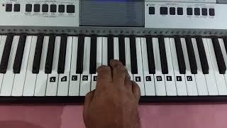 Mana ho tum behad haseen || Toote khilone || Yusudas || keyboard tutorial cover
