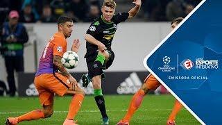 Melhores Momentos - Borussia Mönchengladbach 1 x 1 Manchester City - Champions League (23/11/2016)
