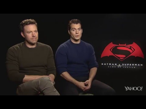 Batman v Superman - Sad Ben Affleck interview