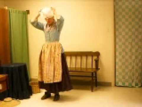 Eighteenth Century Clothing At Claude Moore Colonial Farm