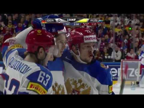 Интервью Сергея Плотникова после Победы над Германией 3-6 ЧМ-2017 по хоккею 8 мая