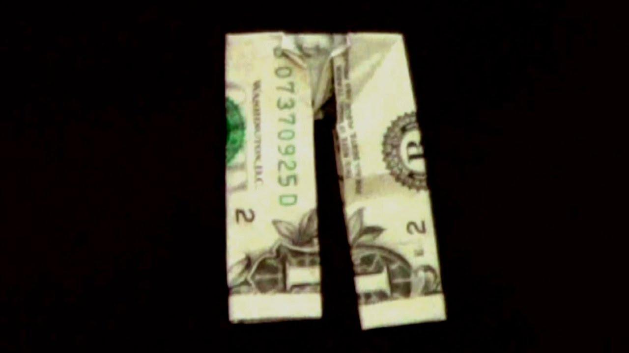 How To Fold Dollar Bill Origami