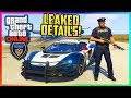 GTA 5 NEW CROOKED COPS DLC - Police LEAK Update, New Missions, Outfits/Vehicles & MORE Leaked! MP3
