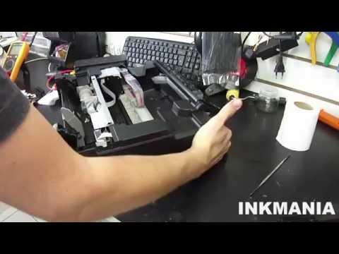 Como abrir desmontar Epson L355 . L365
