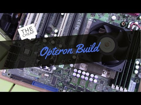 The Cheap Old School Server Hardware Gaming PC Build